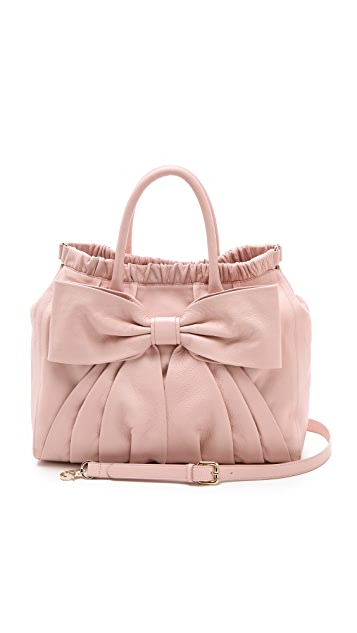 RED Valentino Bow Satchel