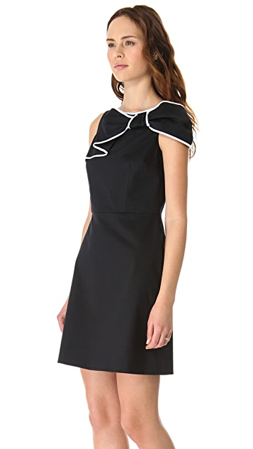 RED Valentino Bow Shoulder Dress