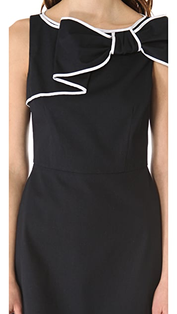RED Valentino Bow Shoulder Dress