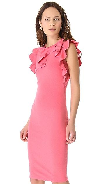 RED Valentino Ribbon Sheath Dress