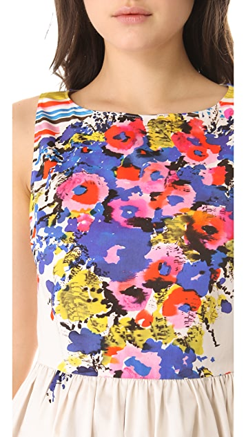 RED Valentino Flower Bouquet Dress
