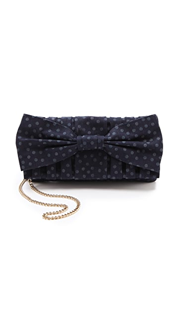 RED Valentino Denim Pois Shoulder Bag