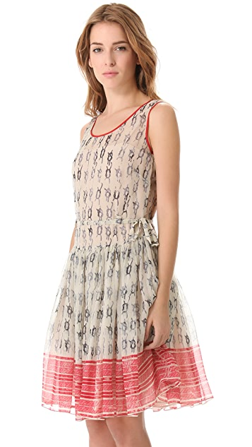RED Valentino Nautical Knots Dress