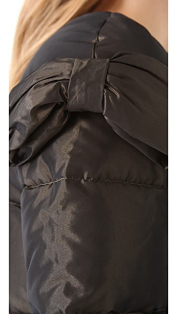 RED Valentino Bomber Puffer Jacket