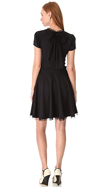 RED Valentino A Line Bow Dress