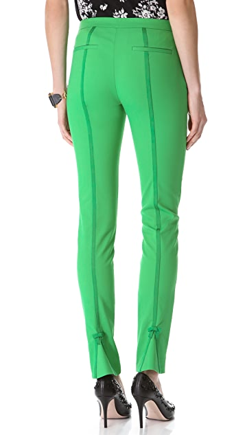 RED Valentino Scuba Bow Trousers