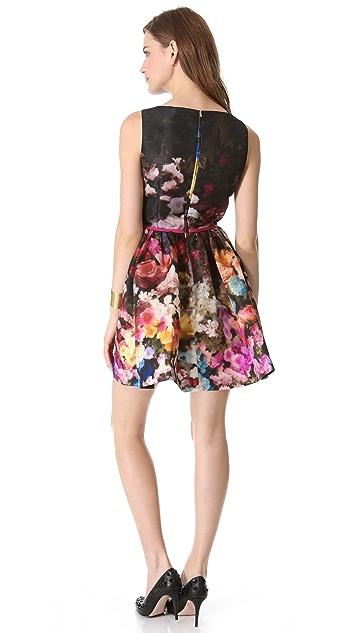 RED Valentino Hazy Garden Sleeveless Dress