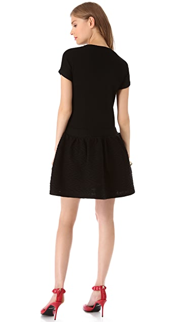 RED Valentino Merino Mini Dress