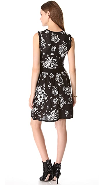 RED Valentino Flower Dress