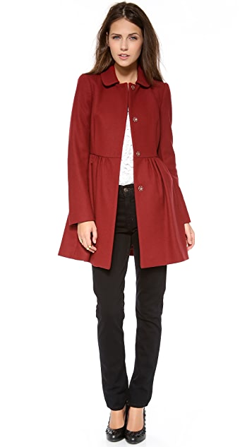 RED Valentino Bow Back Coat