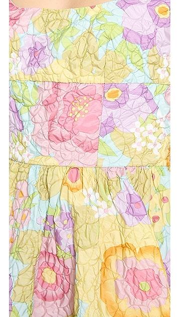 RED Valentino Pop Flowers Print Dress