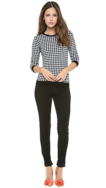 RED Valentino Grid Top