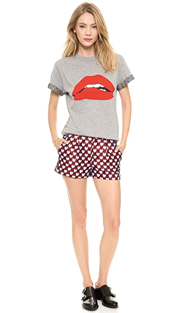 RED Valentino Lips Tee