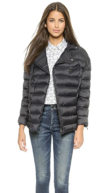 RED Valentino Zip Up Puffer Jacket