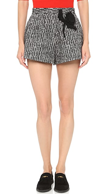 RED Valentino Flower Shorts