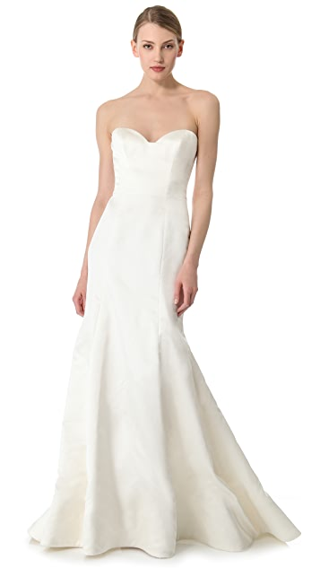 Reem Acra Special Strapless Gown