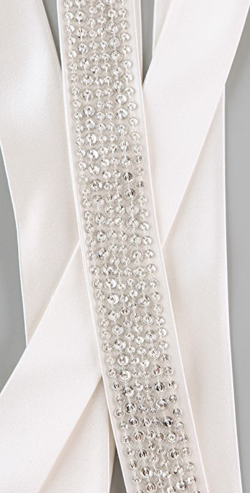 Reem Acra Crystal Headband / Belt