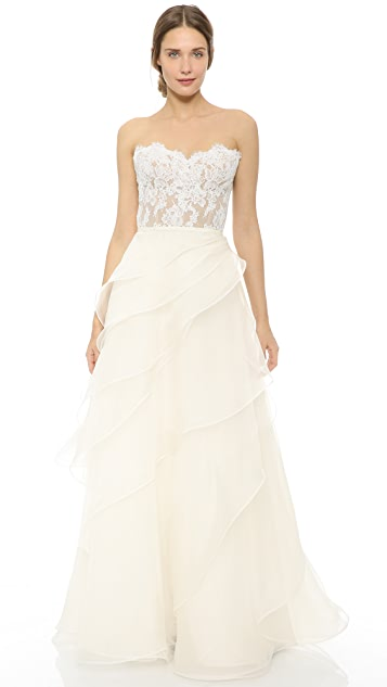 Reem Acra She's in Love! Wedding Dress