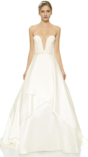 dee3414dfca Reem Acra She s Forever Dress ...