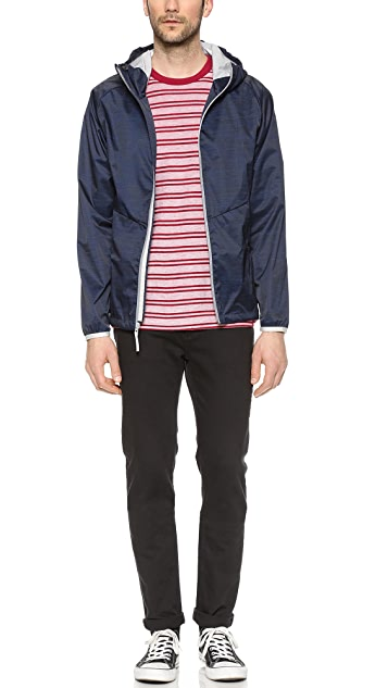 Reigning Champ Camo Print Hooded Jacket