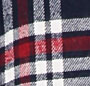 Navy/Red Plaid