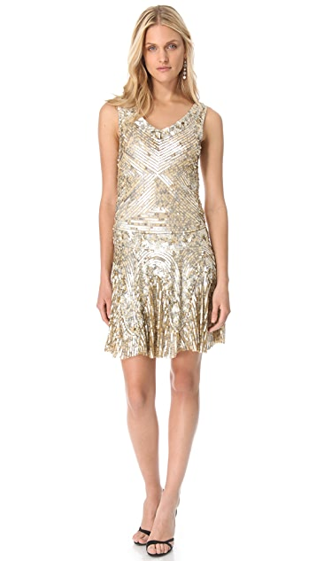 Renzo + Kai Sequin Tank Dress