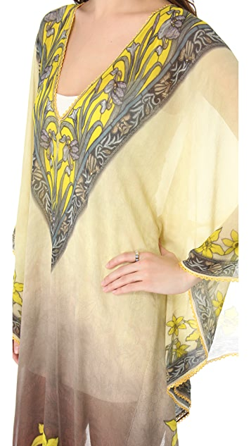 Renzo + Kai Floral Caftan Maxi Dress