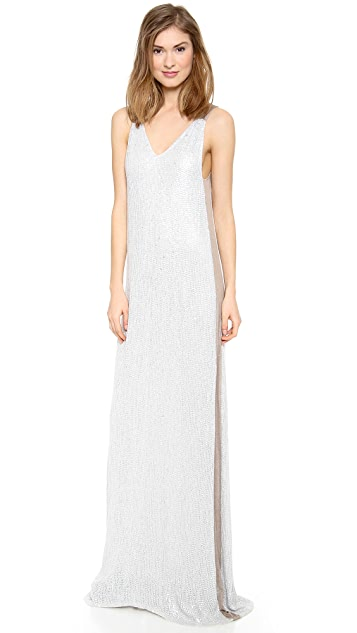 Renzo + Kai Sequin Maxi Dress