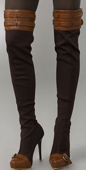 Report Signature Winston Jersey Over the Knee Boots