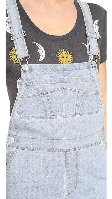 RES Denim Gertie Pinafore Overall Dress