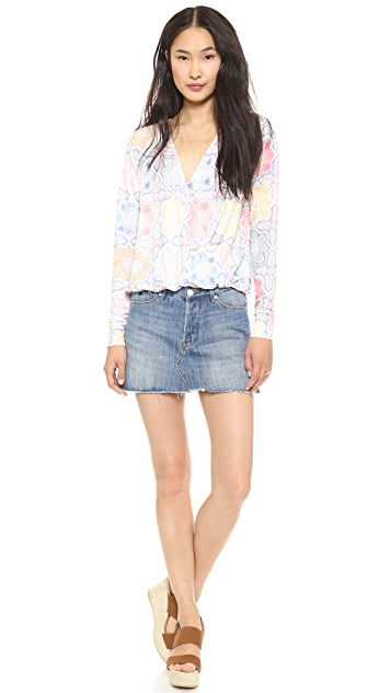 RES Denim Miss World Miniskirt