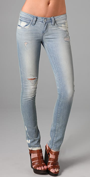 Resin Catalyst Ripped Skinny Jeans