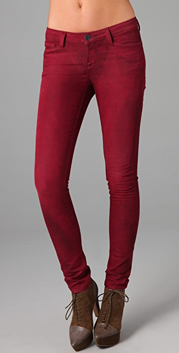 Resin Lariat Skinny Jeans