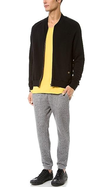 Robert Geller Seconds Sweatshirt Bomber Jacket
