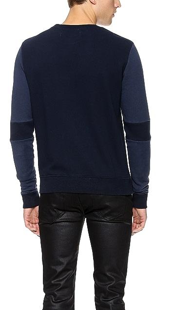 Robert Geller Seconds 2 Tone Sweatshirt