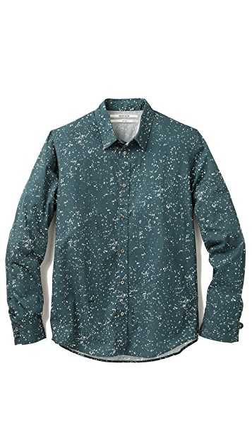 Robert Geller Printed Shirt