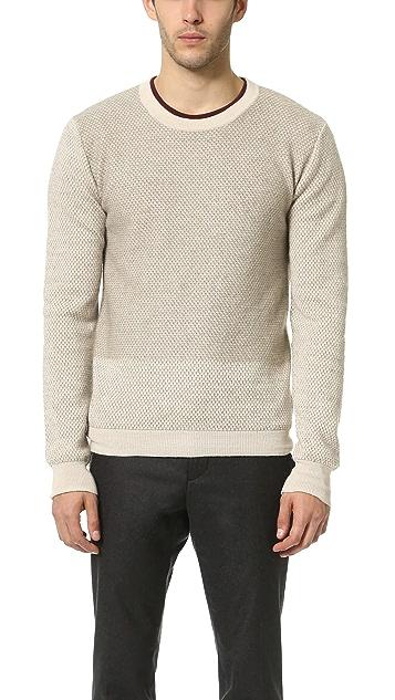 bca47392bfb Robert Geller Gustav Knit Crew Neck Sweater