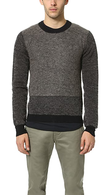 Robert Geller Gustav Knit Crew Neck Sweater