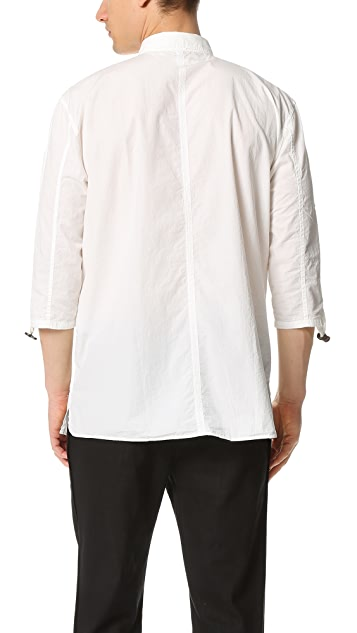 Robert Geller The Adjustable Sleeve Shirt