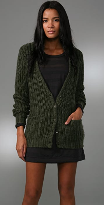 Rag & Bone/JEAN The Chunky Cardigan