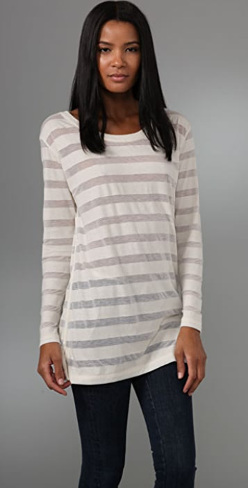 Rag & Bone/JEAN Oversized Long Sleeve Tee