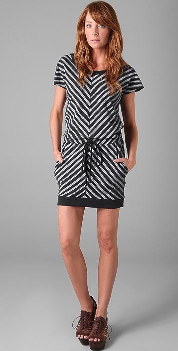 Rag & Bone/JEAN Striped Slash Dress