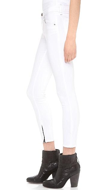 Rag & Bone/JEAN Zipper Capri Skinny Jeans