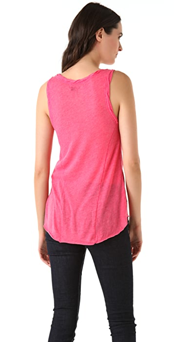 Rag & Bone/JEAN Scoop Neck Tank