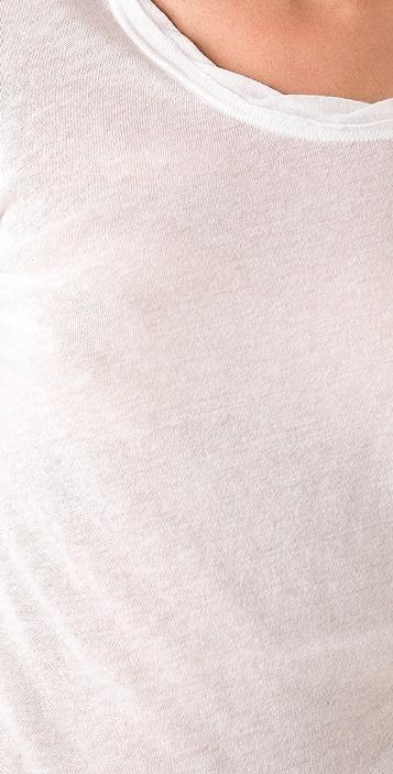 Rag & Bone/JEAN 3/4 Sleeve Nordic Tee