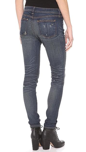 Rag & Bone/JEAN Slouchy Skinny Jeans