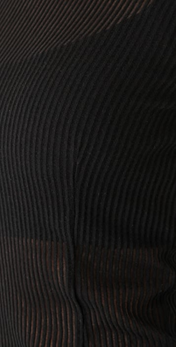 Rag & Bone/JEAN Ribbed Long Sleeve Tee