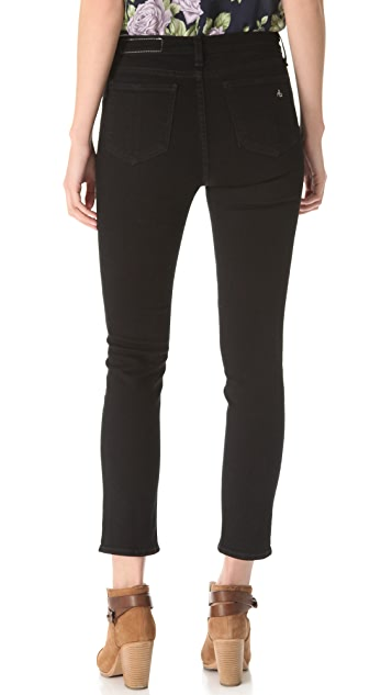 Rag & Bone/JEAN The Justine Straight Leg Jeans