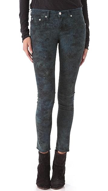 Rag & Bone/JEAN Tie Dye Legging Jeans