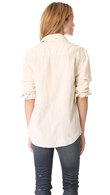 Rag & Bone/JEAN The Leeds Oversized Shirt